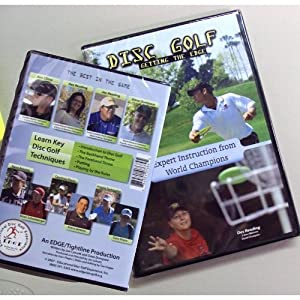 Disc Golf DVD  Getting the Edge  Instructional Video - Innova Disc Golf by Innova