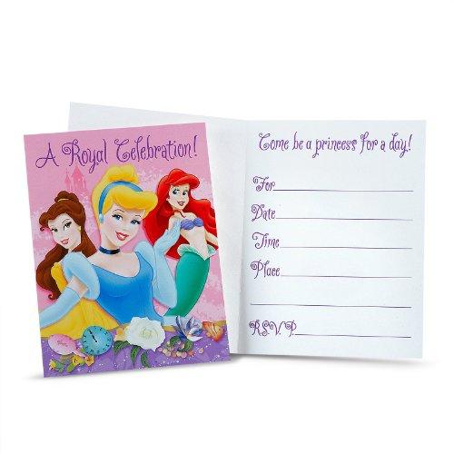 Disney Princess 'Dreams' Invitations (8Ct) front-1067266