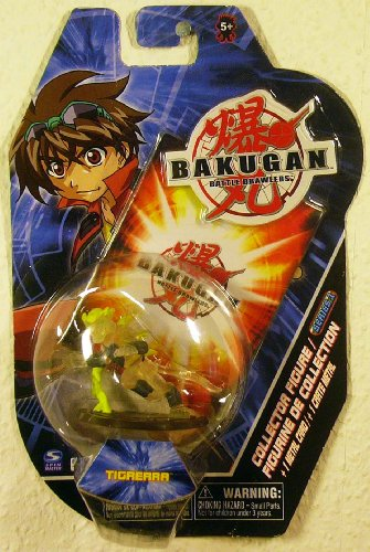 Bakugan Battle Brawlers Collector Figure & Metal Trading Card