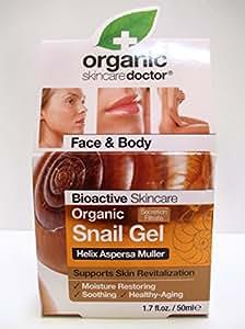 Dr Organic Organic Doctor Organic Snail Gel, 1.7 fl oz Moisturizing Restoring Face & Body Skincare