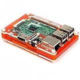 Pibow 3 Coupe パイボー 3 クーペ for Raspberry Pi 3/2/B+ (05 タンジェリン Tangerine) ランキングお取り寄せ