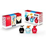 Moschino Mini Set for Women with Cheap and Chic, I Love Love and ChicPetals Minis… (Tamaño: Gift Set)
