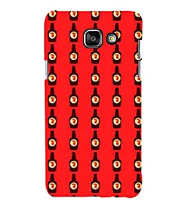 Fuson Premium Back Case Cover Bottle of beer pattern With blue Background Degined For Samsung Galaxy A5(2016)::Samsung Galaxy A5 A510F
