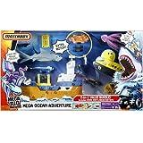 Mattel Matchbox Mega Rig Mega Set Adventure with Shark Ship and Squid Sub