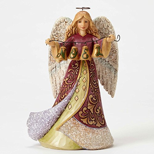Jim Shore HWC Keep Noel Near Victorian Angel Christmas Figurine 4053860 New