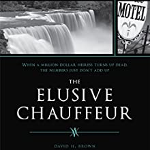 The Elusive Chauffeur (       UNABRIDGED) by David Brown Narrated by Melissa Madole