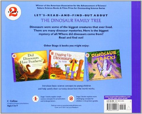 Where Did Dinosaurs Come From? (Lets-Read-And-Find-Out Science Stage 2)