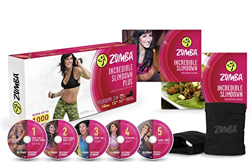 Zumba Fitness Incredible Slimdown DVD System (Salsa Workout Dvd compare prices)