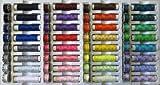 Nähfadensortiment 32 Farben Rollen und Spulen