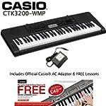 Casio CTK-3200-WM Latest Model Touch...