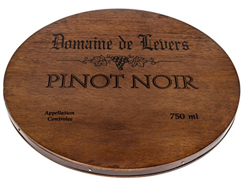 Thirstystone Wine Cask Cheese Board, Pinot Noir, Brown (Wine Barrel Wood compare prices)