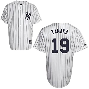 Masahiro Tanaka New York Yankees Home Replica Jersey by Majestic by Majestic