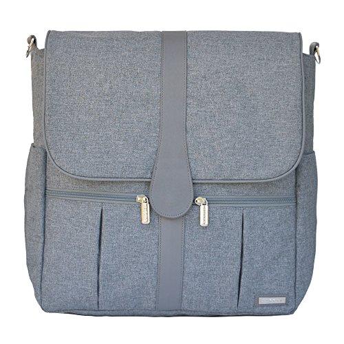 jj cole backpack diaper bag gray heather luggage bags bags. Black Bedroom Furniture Sets. Home Design Ideas