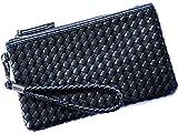 (リブラ) Libra クラッチバッグ メンズ 革 クラッチ バッグ セカンドバッグ ハンドバッグ 編み込み 3サイズ (小)