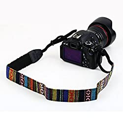 Vintage Camera Strap for All DSLR camera Canon, Sony, Nikon