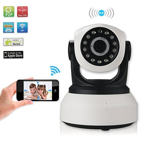 mousand new version baby monitor wireless wifi ip surveillance camera security cam video with. Black Bedroom Furniture Sets. Home Design Ideas