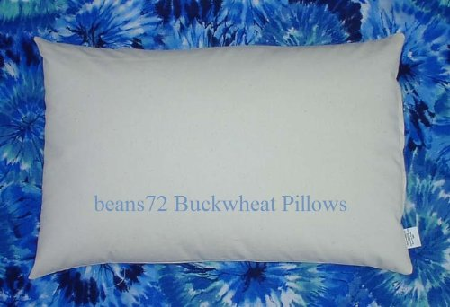 Organic Buckwheat Pillow - Twin/ Standard Size (20
