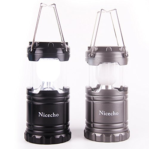Bright Collapsible LED Camping Lantern Outdoor Detachable Flashlights-Emergency Tent Light-Indoor Electronic Chinese Candle-Backpacking, Hiking, Fishing Equipment-2 Packs Set (Butane Tent Heater compare prices)