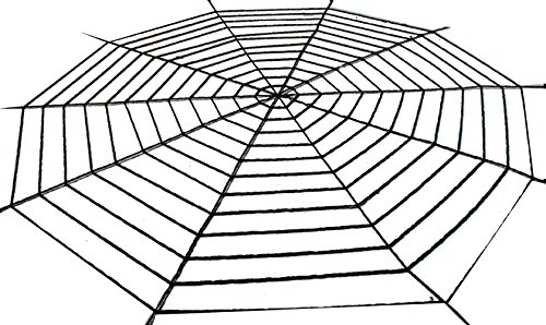 Keral Scary Halloween Decoration Spider Web Cobweb Prop