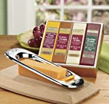 The Swiss Colony Cheese Bars with Slicer, 5-Piece Gift Box