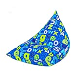 Alphabet Children'Pyramidenförmiges Fun Kinder Sitzsack