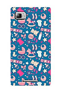 ZAPCASE PRINTED BACK COVER FOR LENOVO VIBE Z - Multicolor
