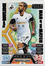 Match Attax 2013/2014 Wayne Routledge Swansea 13/14 Man Of The Match