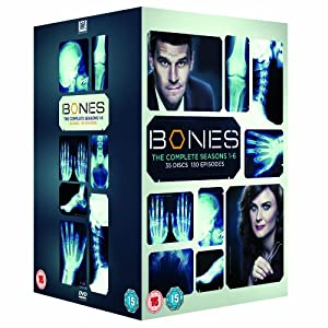 Bones: Complete Seasons 1 – 6 DVD Box Set $55 delivered from Amazon