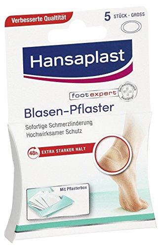Hansaplast SOS Blasen-Pflaster Groß 5 Stück, 2er Pack (2 x 0.005 l)
