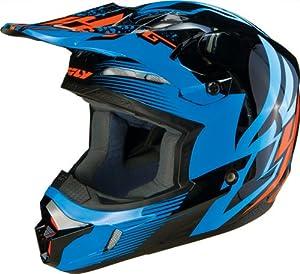 Fly Racing Kinetic Inversion Youth MotoX Off-Road Dirt Bike Motorcycle Helmet - Blue... by Fly Racing