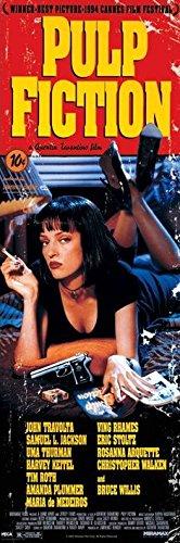 Pulp Fiction-Cover-Poster da porta-dimensioni 158x 53cm