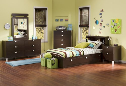 Cheap Kids Bedroom Furniture Set 3 in Chocolate – South Shore Furniture – 3259-BSET-3 (3259-BSET-3)