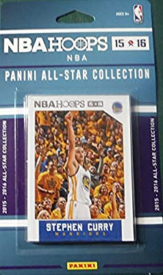 2015 2016 Hoops NBA All Stars Collection Special Edition Factory Sealed Basketball Set with Lebron James Stephen Curry and More