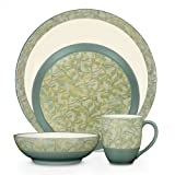 Noritake Elements Flora 4-Piece Place Setting