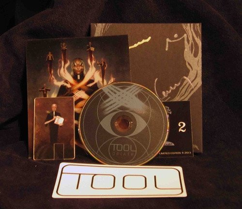 Tool Band Signed Limited Edition Opiate Rerelease Version 2 - Sold Out Elsewhere - Only 1,000 Made (Tool Undertow Cd compare prices)