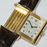 [ジャガールクルト] Jaeger Lecoultre 腕時計 レベルソ デュオ ナイトアン ドデイ K18RG 270.2.54 メンズ 中古