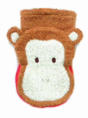 Furnis 559B Monkey Washcloth Hand Puppet, Large - 1