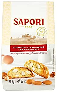 Sapori Cantuccini 250 g (Pack of 3)