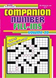 Companion Number Fill-Ins Puzzle Book - Volume 20