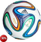 adidas BRAZUCA Mini Pallone (G73636), Multicolore (White/Night Blue/Multicolor), 1
