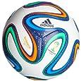 adidas Mini Ball Brazuca, White/Night Blue/Multicolor, 1, G73636