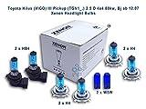 Toyota Hilux VIGO III) (Micro tgn1_2,5 x 4, 4 88kw Bj ab 12.07 ampoules pour phares x