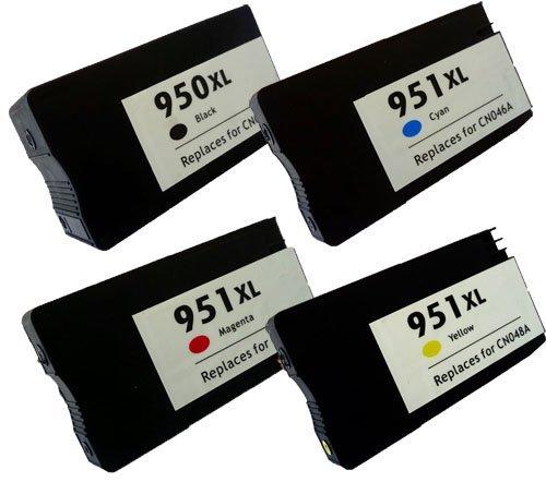 4 Druckerpatronen kompatibel für HP 950XL 951XL SET