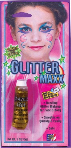 Glitter Maxx Makeup for Face and Body - Gold - 1