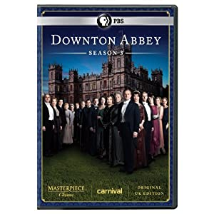 Masterpiece Classic Downton Abbey Season 3 Dvd Original Uk Version from Pbs (Direct)