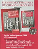 img - for Elementary Principles of Chemical Processes, 3rd Edition 2005 Edition Integrated Media and Study Tools, with Student Workbook book / textbook / text book