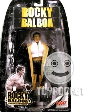 "Buy Low Price Jakks Pacific Rocky Balboa ""Rocky Balboa"" Action Figure (Ring Gear) (B000QJFAQE)"