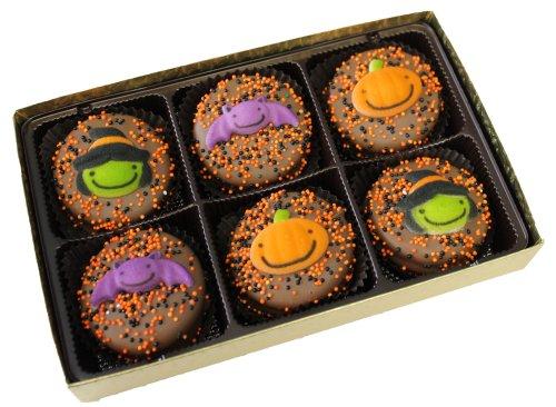 Chocolate Dipped Oreo Cookies for Halloween 6