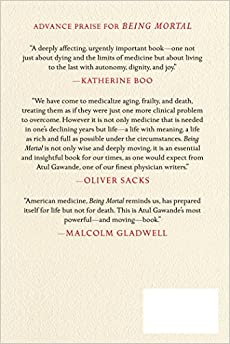 Being Mortal: Medicine and What Matters in the EndHardcover– Deckle Edge, October 7,