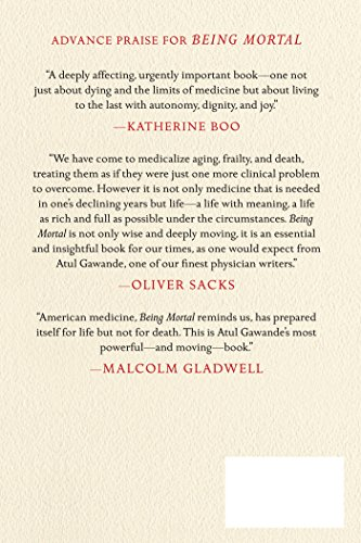 Ebook Free Being Mortal: Medicine and What Matters in the End by Metropolitan Books